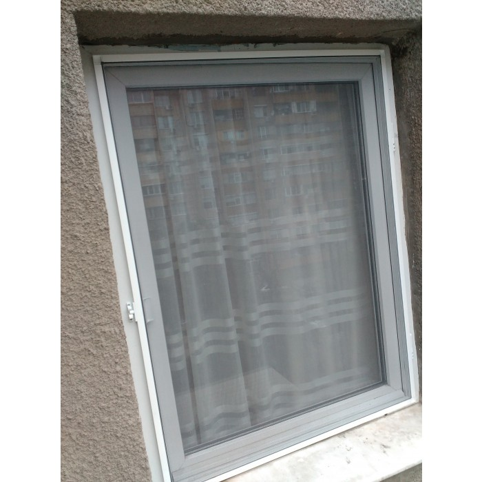 Комарник за прозорци Home Maister бял 170х80см
