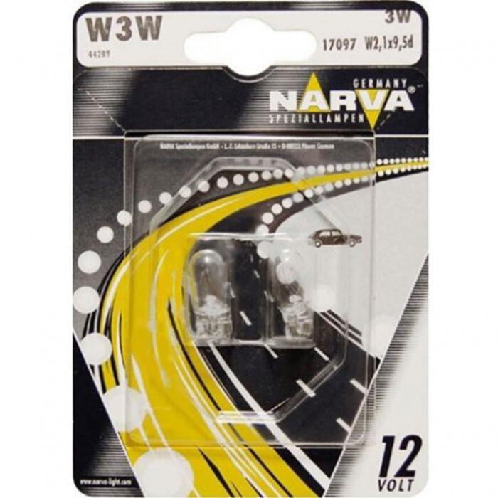 Крушка Narva 12V W3W W2.1x9.5d