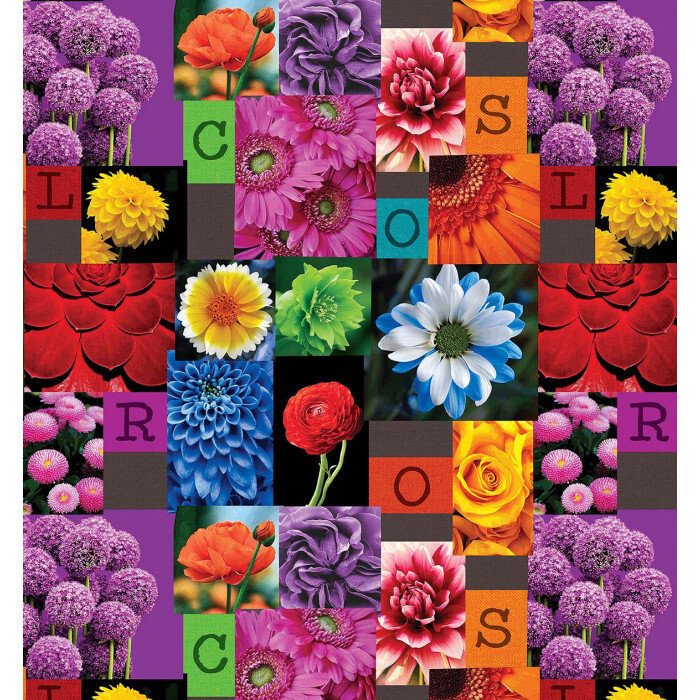 Мушама фантастик 724/1 цветя