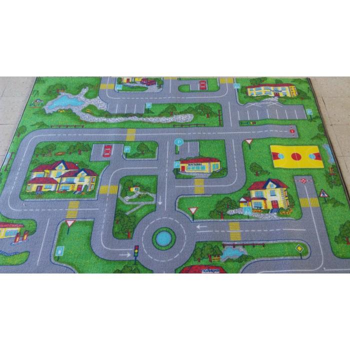 Мокетен килим хромджет сити лайф 160х240, подложка гума