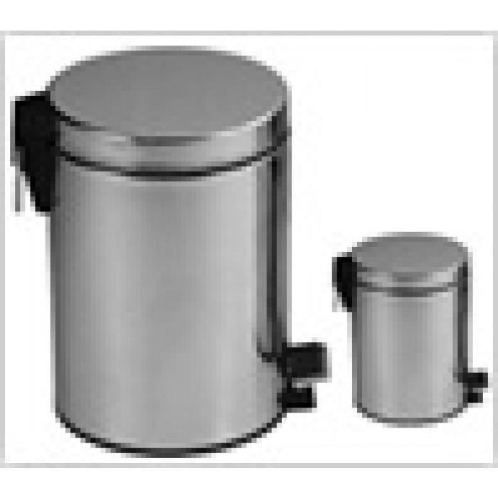 Метален кош за боклук с педал 3 литра