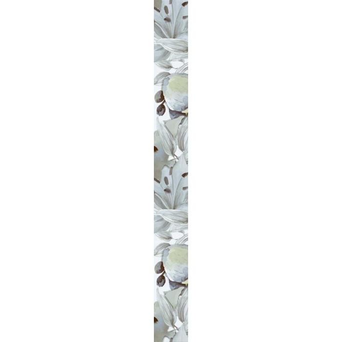 Плочки за стенна декорация фриз IJ 50 x 500мм Виола цветя зелени
