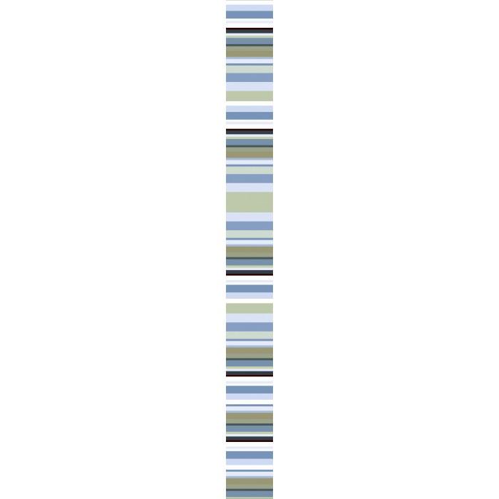 Стенни декоративни плочки фриз IJ Универсал Райе 50 x 500мм зелени