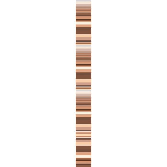 Стенни декоративни плочки фриз IJ Универсал Райе 50 x 500мм кафяви