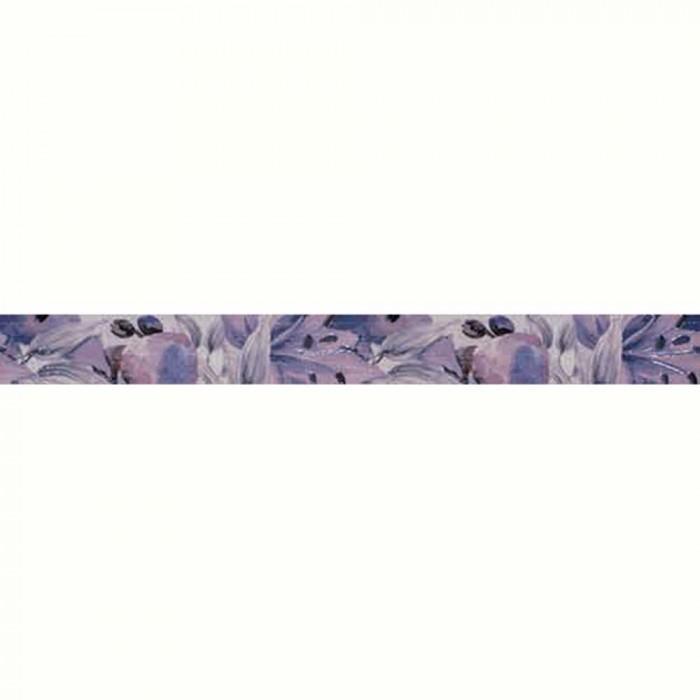 Плочки за стенна декорация / фриз IJ 50 x 500мм Виола цветя лилави