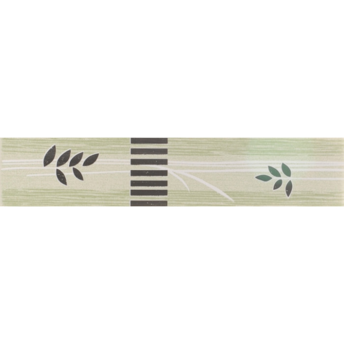 Фриз 50х250 Лотос зелен