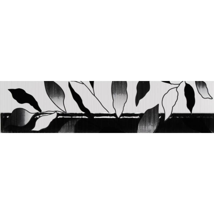 Стенни плочки / фриз 80 x 330 Вива лукс черен
