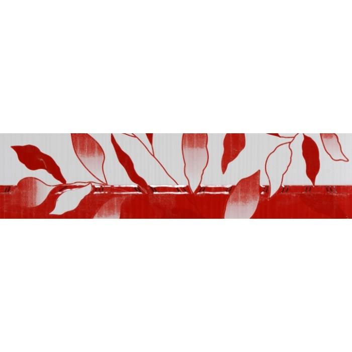 Стенни плочки / фриз 80 x 330 Вива лукс червен