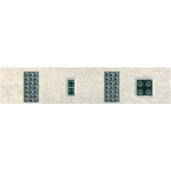 Плочки за стенна декорация / фриз 55x250 Реджина домино лукс светлосиви