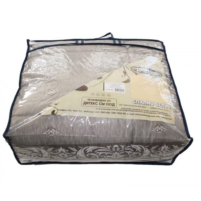 Зимен олекотен спален комплект 150х210см / единичен