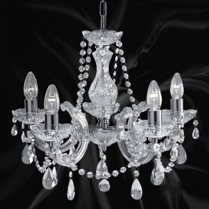 Полилей с кристал Marie Therese 399-5 / E14 5x60W