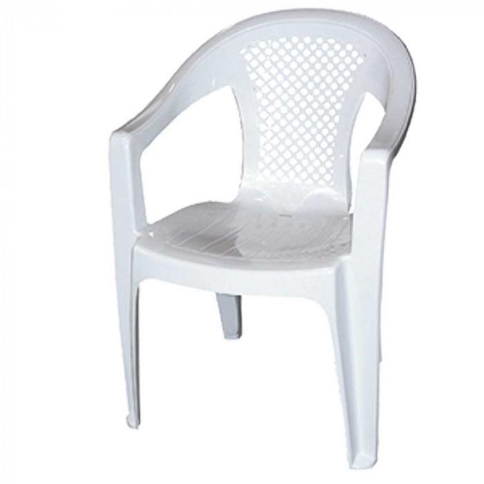 Градински PVC стол Star Promo бял