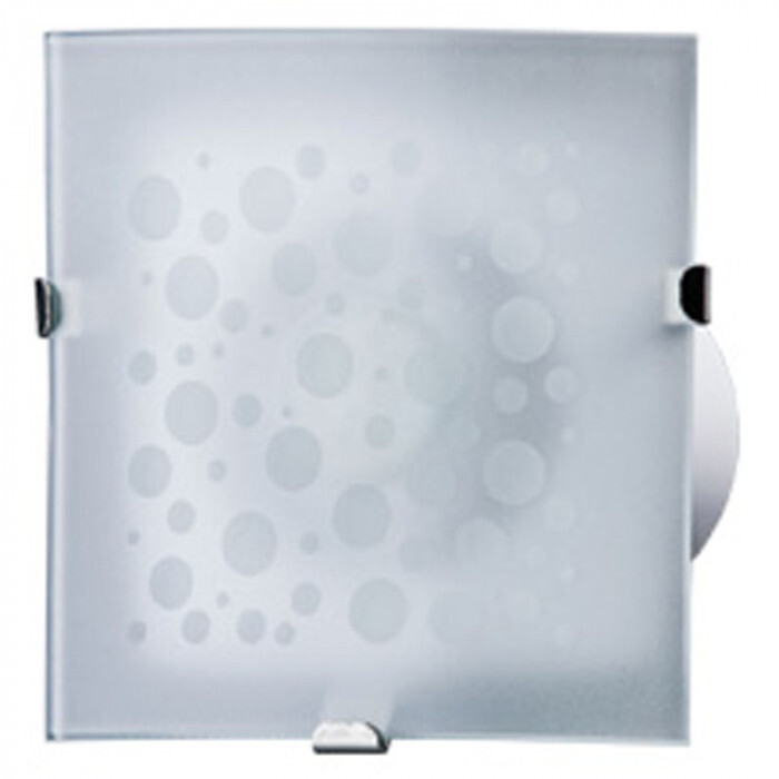 Вентилатор GLORY 100-1 с вградена LED  крушка 2W