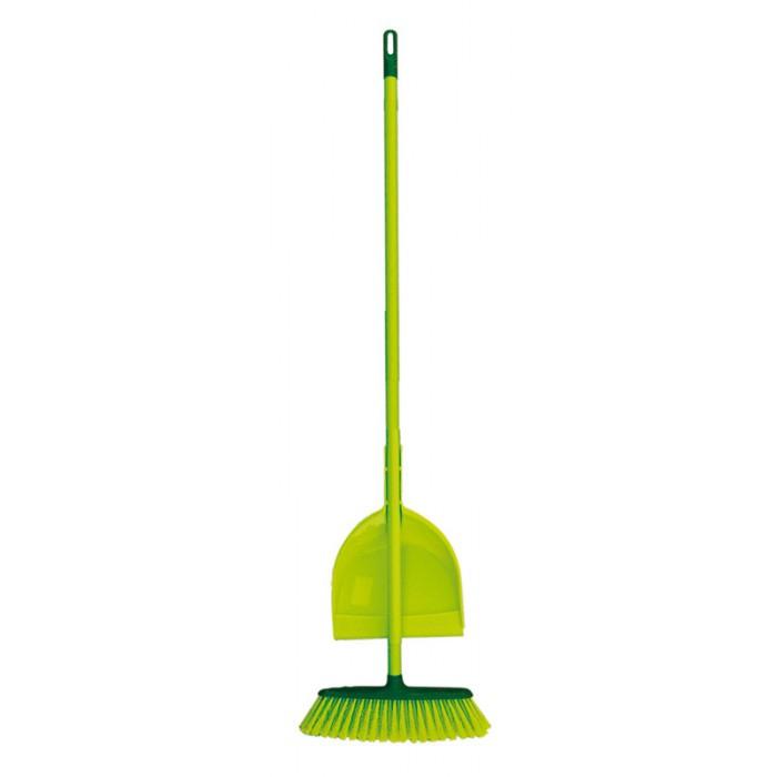 Комплект домакинска метла и лопатка