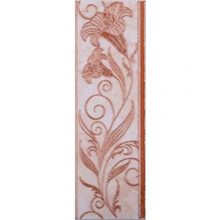 Плочки за стенна декорация / фриз Ибица 80 x 250мм кафяви