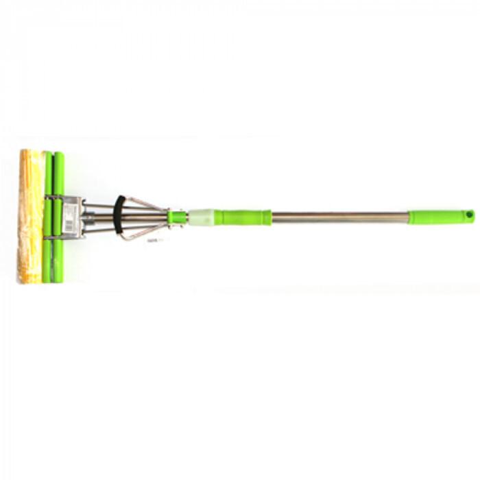 Моп двоен зелен оранж-лукс hy 0022