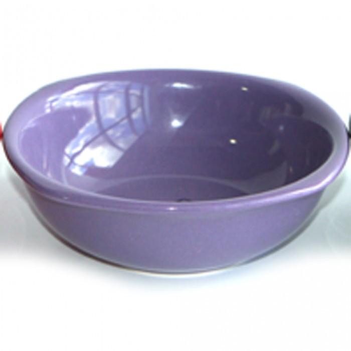 Керамична купа 15см лилава