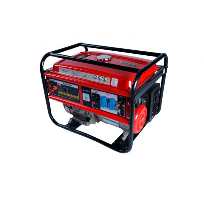 Бензинов генератор за ток Raider RD-GG03 / 5000W