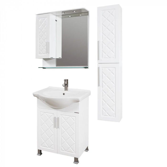 Шкаф за баня тип колона Макена Ади