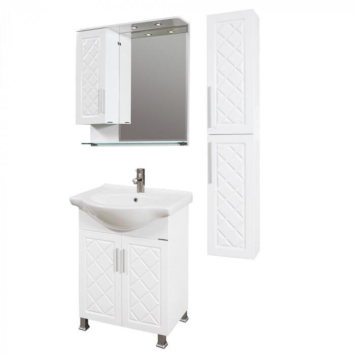 Долен шкаф за баня с мивка Макена Ади