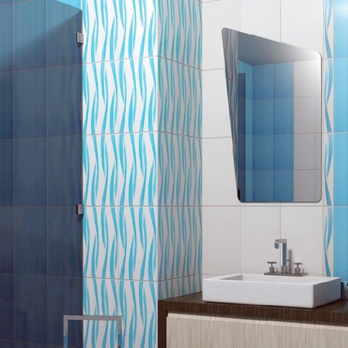 Плочки за стенна декорация / фриз Амира Лукс 60 x 400мм сини