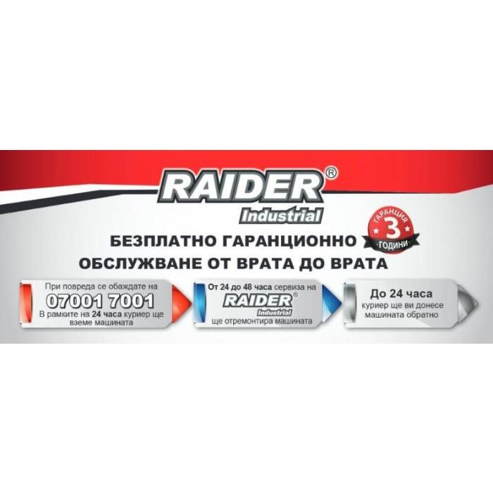 Пистолет за горещ въздух 2степени Raider Industrial RDI-HG24 2000W