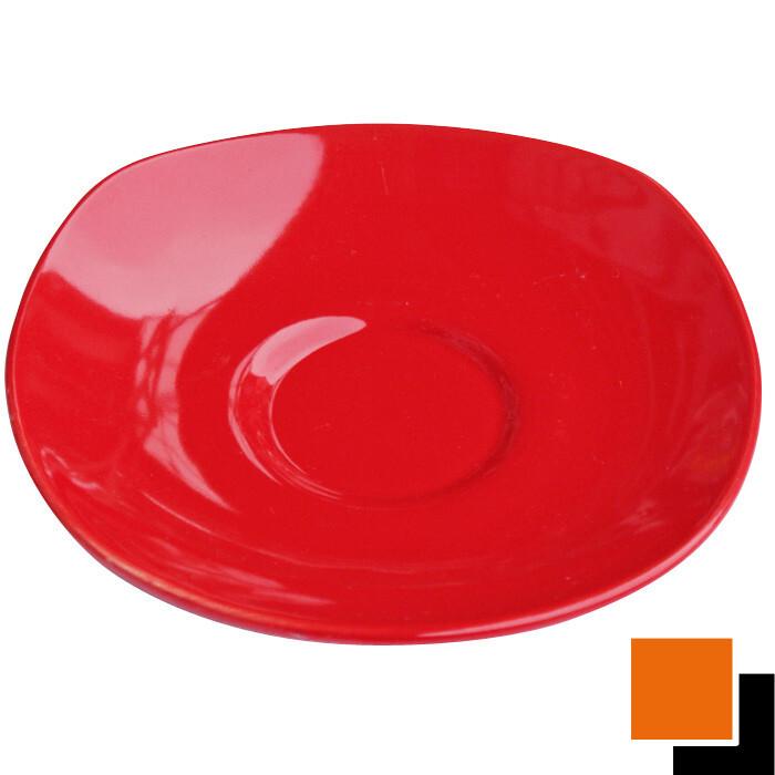 Квадратна керамична чиния