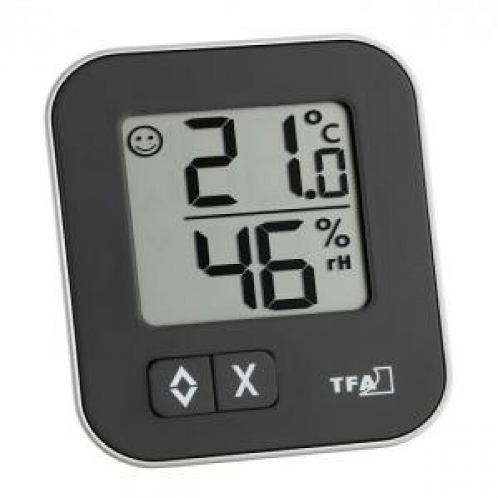 Дигитален термометър и хигрометър Moxx 0 до +50°С 20 до 99% 57x13x69мм