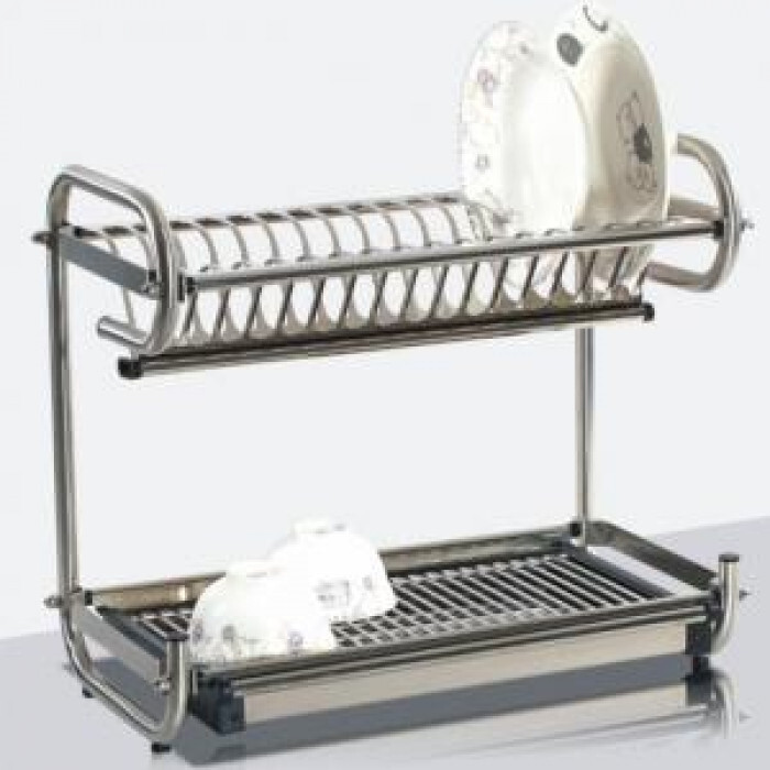 Двойна поставка за сушене на съдове и прибори 228 B