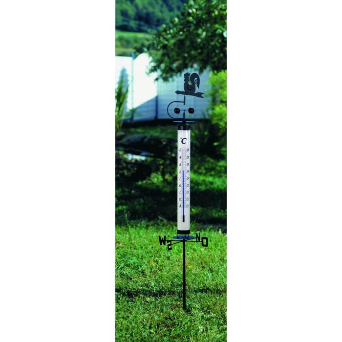 Термометър градински с ветропоказател - 1400 мм.