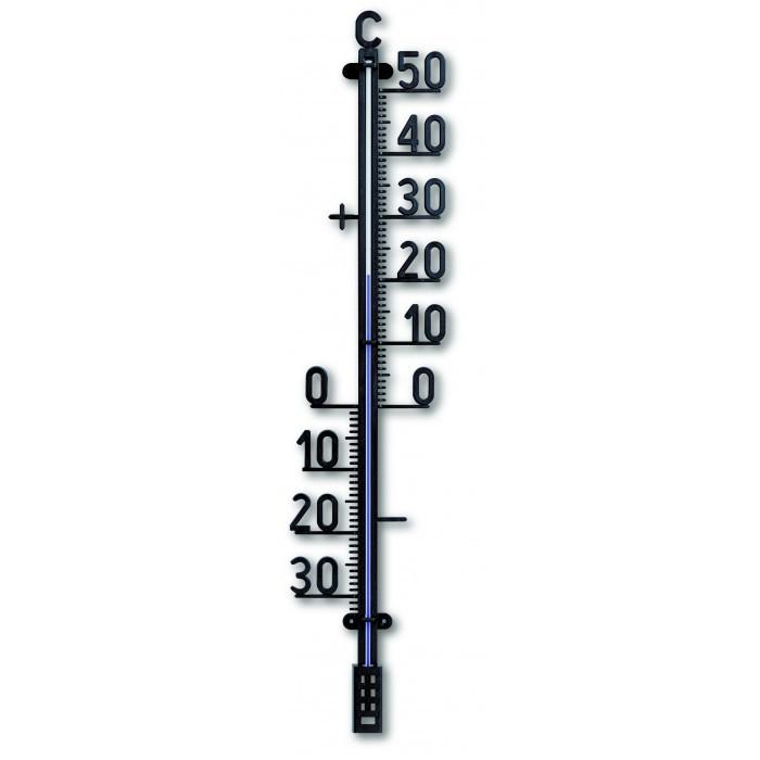 Външен пластмасов термометър / черен 690мм