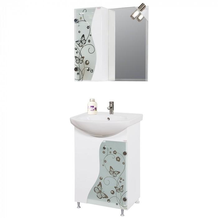 Долен PVC шкаф за баня с умивалник Макена Елит