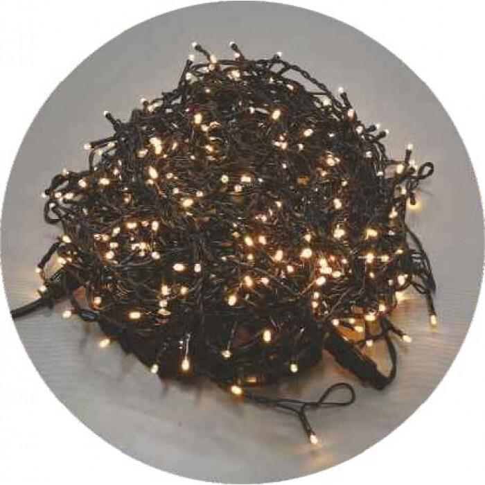 Завеса 400 топло бели 5мм LED лампички. 2.0м*2.0м