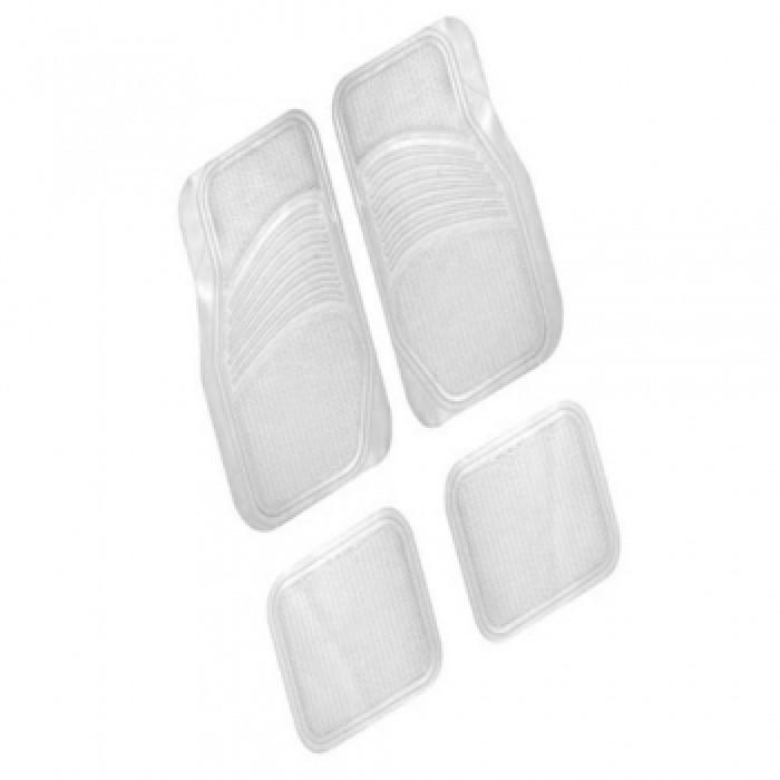 Комплект 4 прозрачни стелки за автомобил Clear