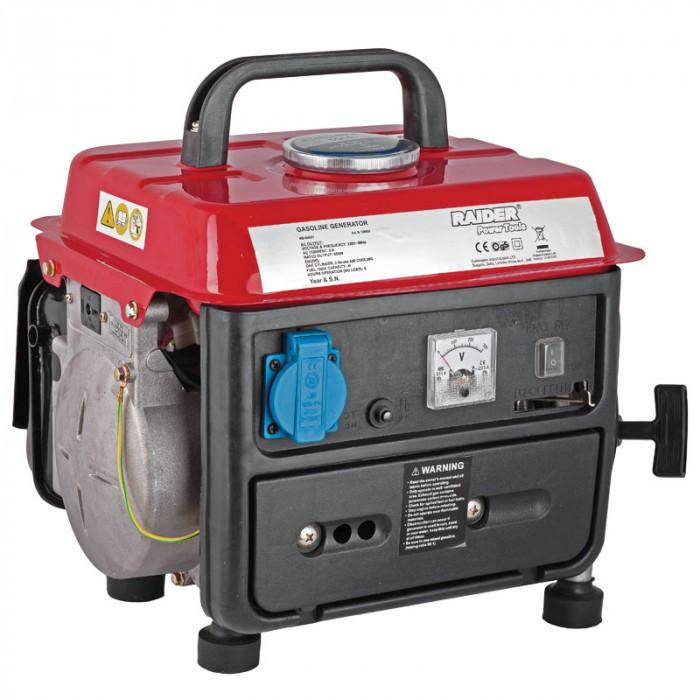 Бензинов генератор за ток двутактов Raider RD-GG01 / 650W