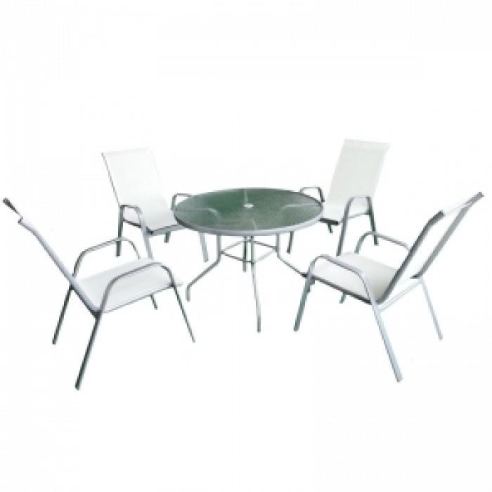 Градински сет маса + 4 стола