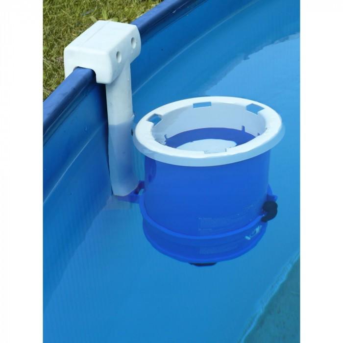 Сглобяем метален басейн с филтърна система Gre 450х90см