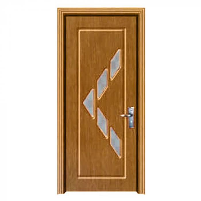 Комплект интериорна врата със стъкло 90/200 см.