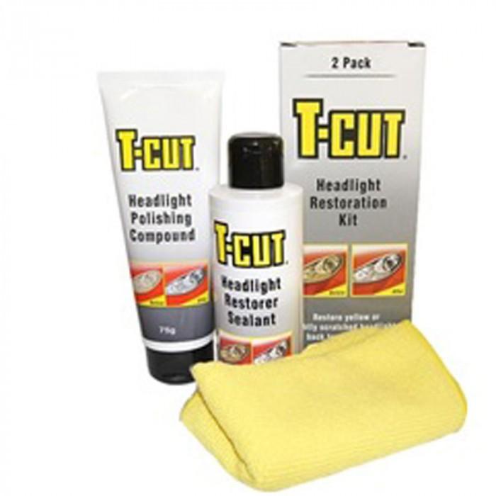 Комплект за възстановяване и полиране на фарове Т-cut