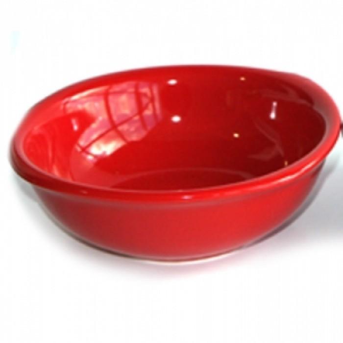 Купа керамична,15см,червена