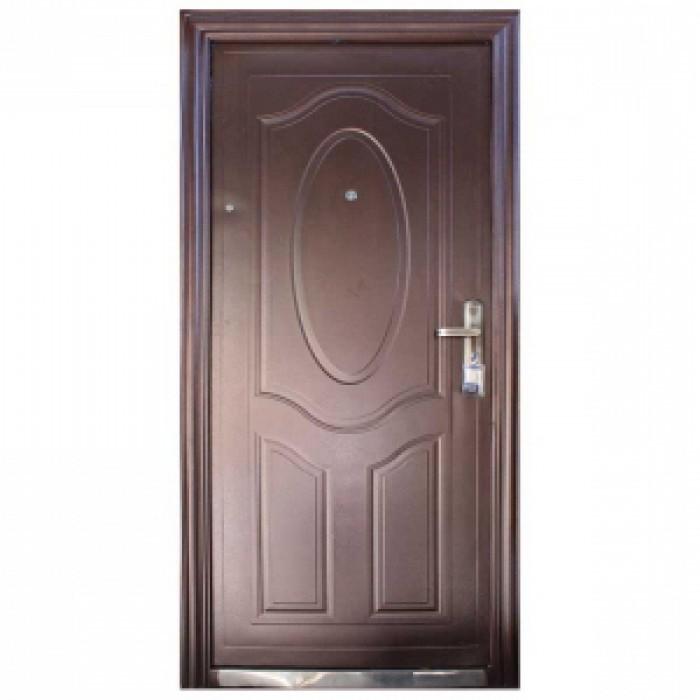 Входна метална врата шагрен 90/200 лява