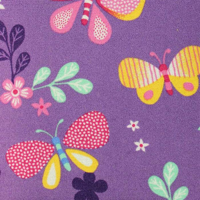 Мокетен килим филц 150х200, пеперуди