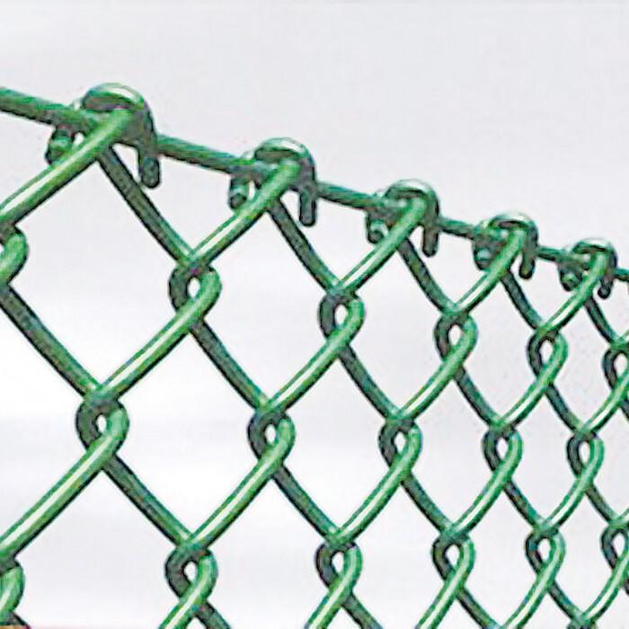 Оградна поцинковaна мрежа 1.5x10м / ø1.6мм зелена