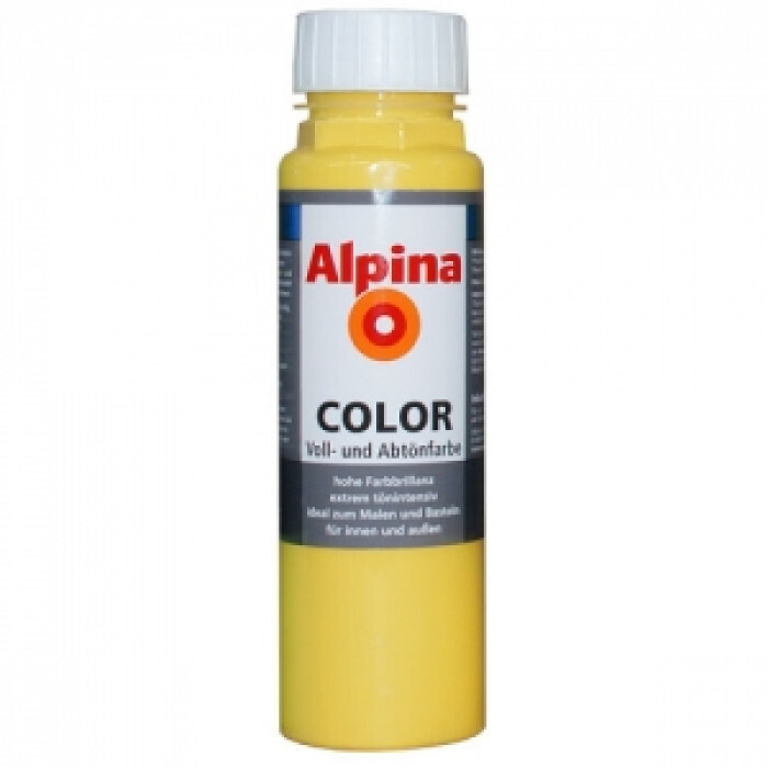 Оцветители за ръчно тониране / Alpina color lucky yellow