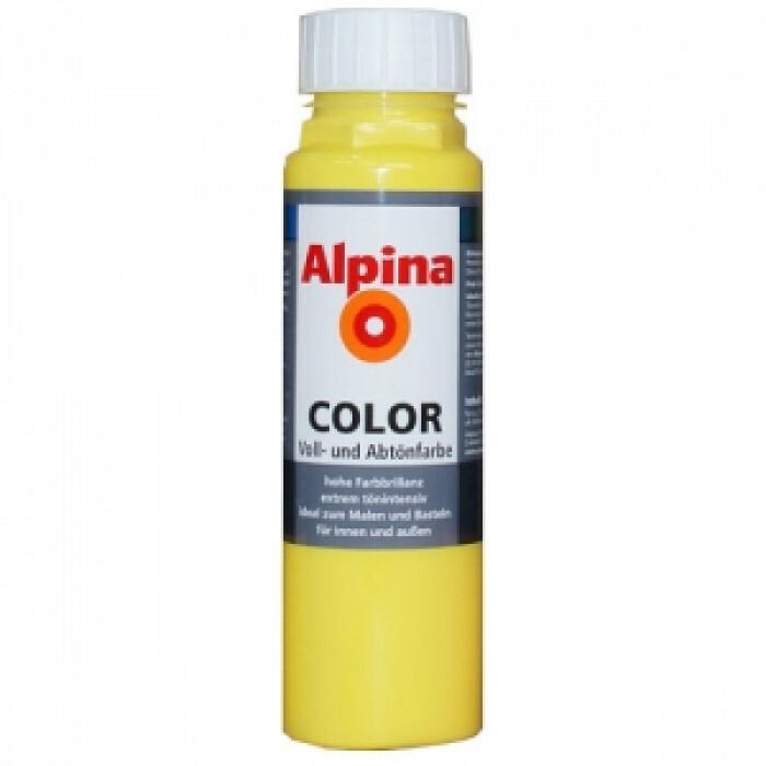 Оцветители за ръчно тониране / Alpina color sunny yellow