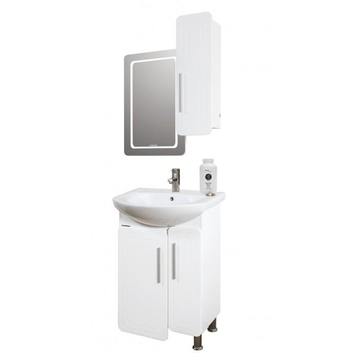 Горен PVC шкаф за баня с огледало Макена Панама