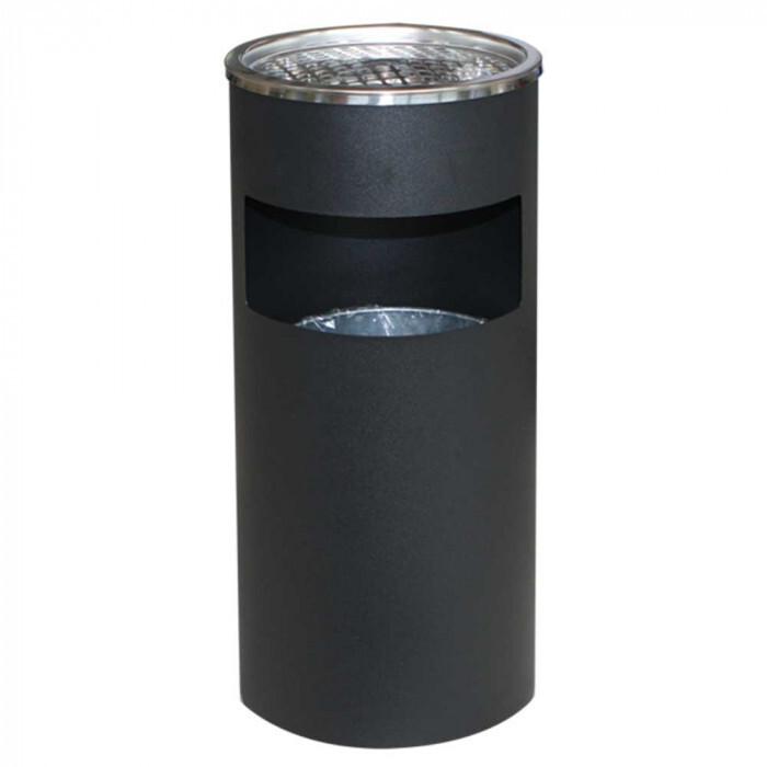 Пепелник черен ЕК-9412B-BL