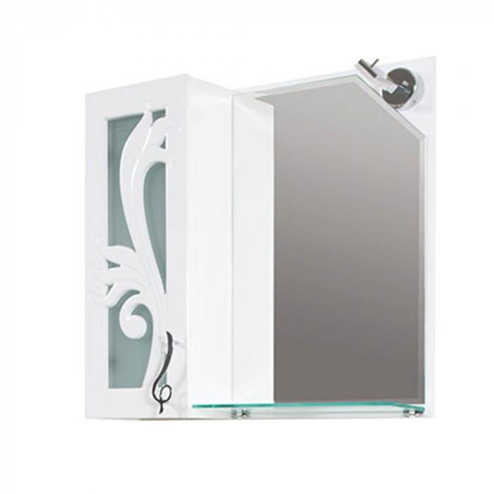 Горен шкаф за баня с огледало Макена Помона