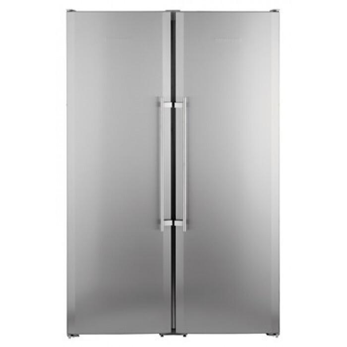Двоен хладилник с фризер Liebherr SBSesf 7212, 640 л, А+/А+