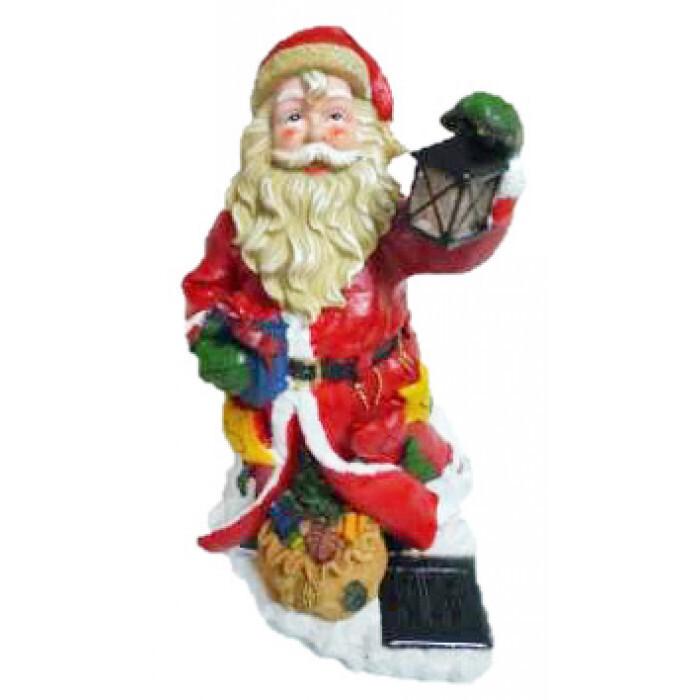 Соларна LED лампа Дядо Коледа SR-6172 / 16х17х31см